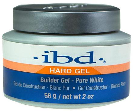 Aufbau-Gel in Weiß für natürlich schöne Nägel - IBD Builder Gel Pure White — Bild N4