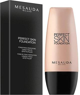 Langlebige Foundation - Mesauda Milano Perfect Skin Foundation — Bild N1