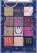Düfte, Parfümerie und Kosmetik Lidschattenpalette - Vivienne Sabo Les Planetes Eyeshadow Palette