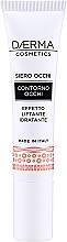 Düfte, Parfümerie und Kosmetik Feuchtigkeitsspendendes Serum für die Augenpartie mit Lifting-Effekt - Daerma Cosmetics Eye Contour Serum