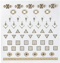 Düfte, Parfümerie und Kosmetik Dekorative Nagelsticker - Peggy Sage DecorativeNail Stickers Jewels