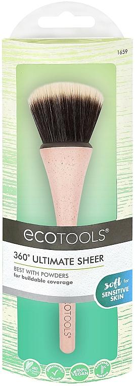 Multifunktionaler Make-up Pinsel - EcoTools 360° Ultimate Sheer Brush