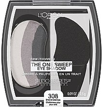 Düfte, Parfümerie und Kosmetik Lidschatten - L'Oreal Paris Studio Secrets Professional One Sweep Eye Shadow