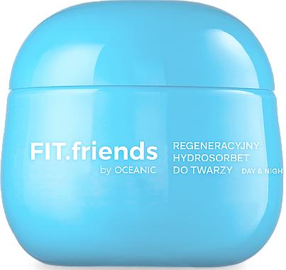 Gesichtscreme-Sorbet für alle Hauttypen - AA Cosmetics FIT.Friends Go Hydrate Hydrosorbet — Bild N1