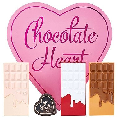 Make-up Set - I Heart Revolution Chocolate Heart — Bild N2