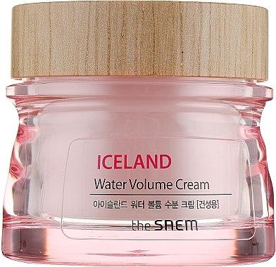Feuchtigkeitscreme für trockene Haut - The Saem Iceland Water Volume Hydrating Cream — Bild N2