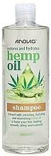 Düfte, Parfümerie und Kosmetik Regenerierendes und feuchtigkeitsspendendes Shampoo mit Hanföl - Anovia Hemp Oil Shampoo Restores and Hydrates