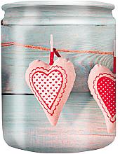 Düfte, Parfümerie und Kosmetik Duftkerze im Glas mit Muster Hearts 82/68 - Bolsius Aromatic