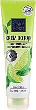 Düfte, Parfümerie und Kosmetik Handcreme mit Sheabutter und Zitronenextrakt - Cztery Pory Roku Hand Cream