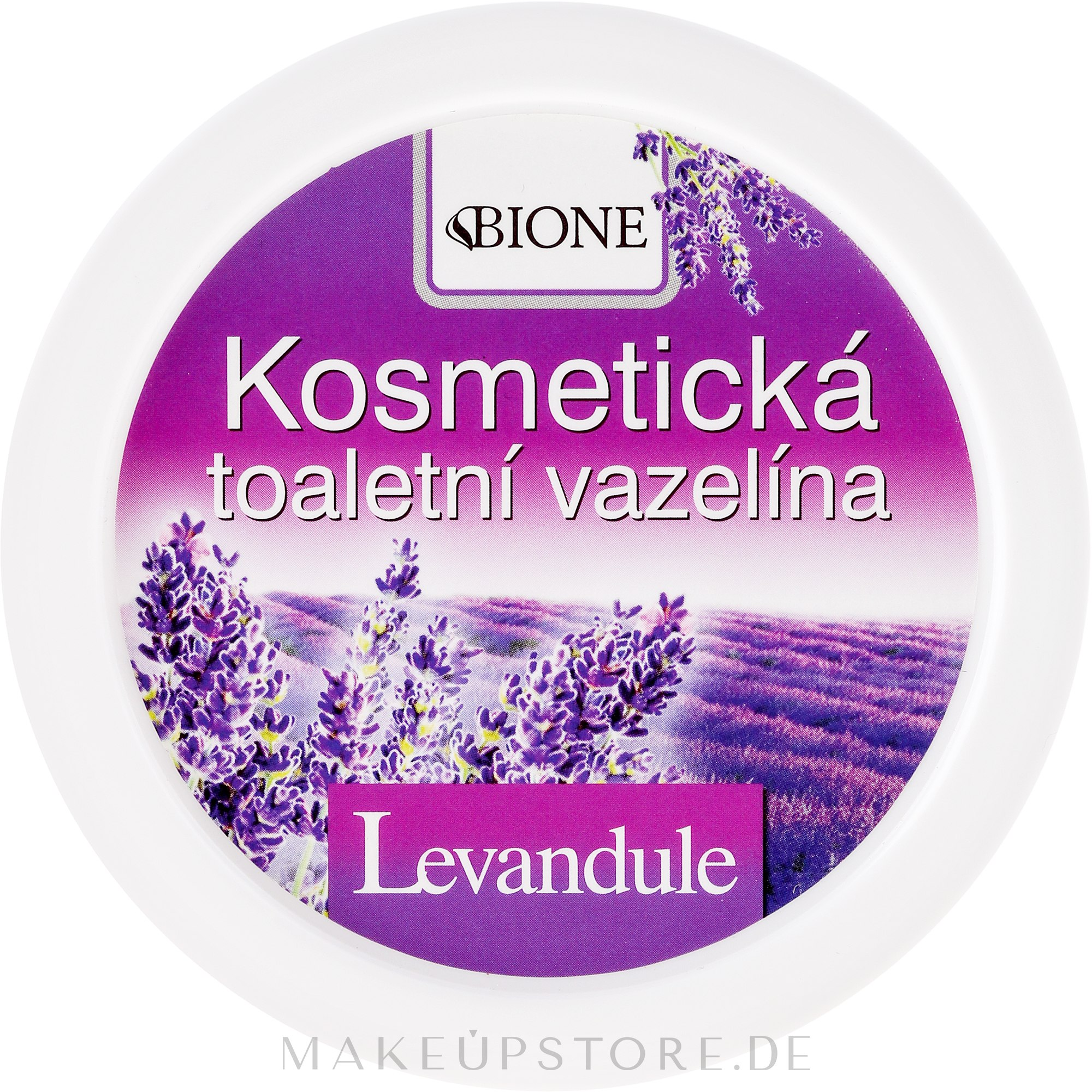 Kosmetische Vaseline mit Lavendelöl - Bione Cosmetics Lavender Cosmetic Vaseline — Bild 155 ml