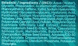 3in1 Augenkonturgel mit Hyaluronsäure - Eveline Cosmetics Hyaluron Clinic Gel Filler Eye Contour Roll-on — Bild N2