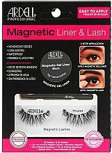 Düfte, Parfümerie und Kosmetik Make-up Set (Eyeliner 2g + Magnetische Wimpern 2St.) - Magnetic Lash & Liner Lash Wispies
