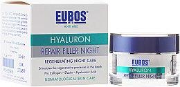 Düfte, Parfümerie und Kosmetik Regenerierende Nachtcreme mit Hyaluronsäure - Eubos Med Anti Age Hyaluron Repair Filler Night Cream