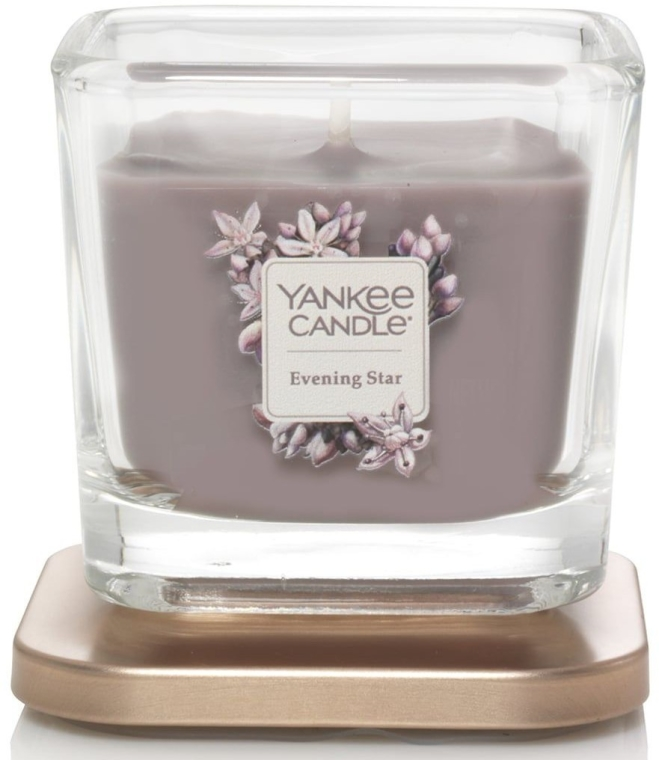 Duftkerze im Glas Evening Star - Yankee Candle Evening Star Square Candles — Bild N2