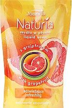 Flüssige Handseife mit Grapefruit - Joanna Naturia Body Grapefruit Liquid Soap (Nachfüller) — Bild N1