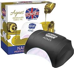 Düfte, Parfümerie und Kosmetik LED-Lampe für Nageldesign schwarz - Ronney Profesional Agnes LED 48W (GY-LED-032)