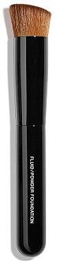 2in1 Foundationpinsel für Fluid und Puder - Chanel Pinceau Teint 2 En 1 Fluide Et Poudre — Bild N1