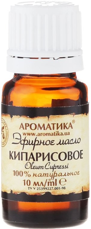 Ätherisches Öl Zypresse - Aromatika — Bild N2