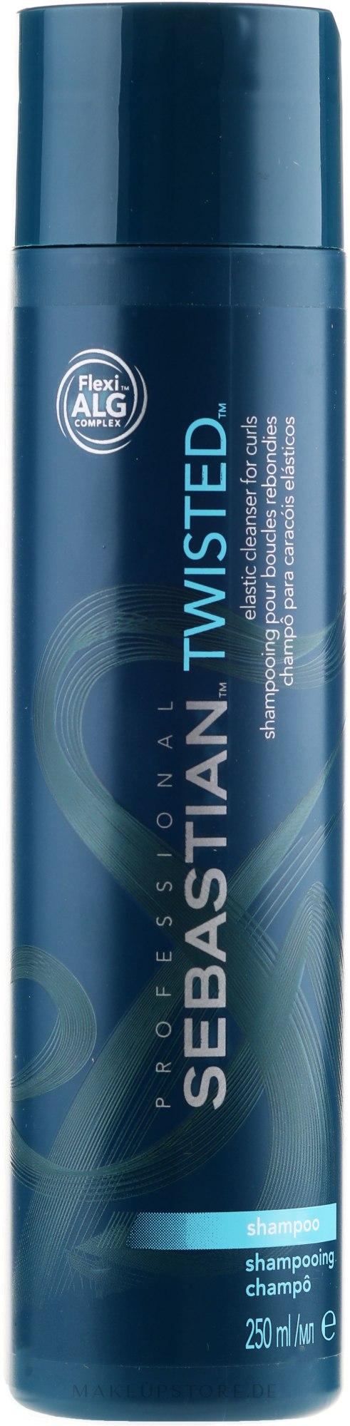 Glättendes Shampoo für lockiges Haar - Sebastian Professional Twisted Elastic Cleanser Shampoo — Bild 1000 ml