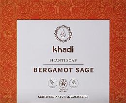 Düfte, Parfümerie und Kosmetik Naturseife mit Salbei und Bergamotte - Khadi Bergamot Sage Shanti Soap