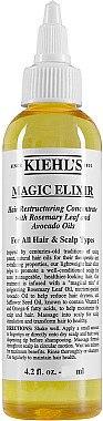 Pflegendes Haar- und Kopfhautelixier mit Rosmarin und Avocadoöl - Kiehl's Magic Elixir Hair Restructuring Concentrate — Bild N1