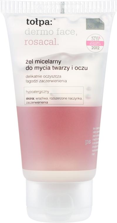 Mizellen-Reinigungsgel für Augen und Gesicht - Tolpa Dermo Face Rosacal Face Gel — Bild N1