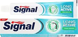 Düfte, Parfümerie und Kosmetik Zahnpasta für einen frischen Atem - Signal Long Active Fresh Breath Toothpaste