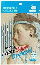 Düfte, Parfümerie und Kosmetik Feuchtigkeitsspendende Tuchmaske in 2 Schritten - Oerbeua I Hate Super Dryness Mask Sheet
