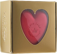 Düfte, Parfümerie und Kosmetik Naturseife I Love You - Essencias De Portugal Golden Box Lotus Flower Love Soap Special Edition
