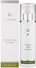 Düfte, Parfümerie und Kosmetik Tonisierende Gesichtsemulsion bei atopischer und sehr empfindlicher Haut - Clarena Eco Line Tricelles Toner Emulsion