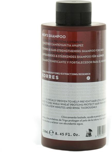 Aufbauendes und stärkendes Shampoo für Männer - Korres Magnesium Wheat Proteins Men's Shampoo — Bild N1