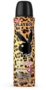 Playboy Play It Wild - Parfümiertes Deospray — Bild N1