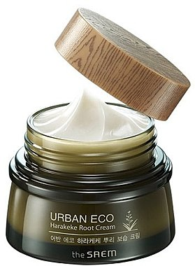 Feuchtigkeitsspendende Gesichtscreme mit Wurzelextrakt aus neuseeländischem Flachs - The Saem Urban Eco Harakeke Root Cream — Bild N1