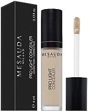 Düfte, Parfümerie und Kosmetik Flüssiger Gesicht-Concealer - Mesauda Milano Pro Light Concealer