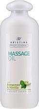 Düfte, Parfümerie und Kosmetik Glättendes Massageöl für den Körper mit Bergamotten- und Vanilleöl - Hristina Professional Bergamot & Vanilla Massage Oil
