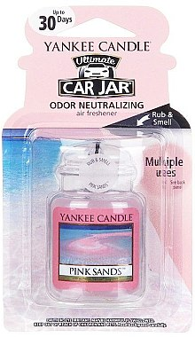 Auto-Lufterfrischer Pink Sands - Yankee Candle Pink Sands Car Jar Ultimate — Bild N1