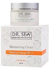 Düfte, Parfümerie und Kosmetik Feuchtigkeitsspendende Gesichtscreme für trockene Haut SPF 15 - Dr. Sea Moisturizing Cream SPF 15