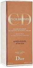 Düfte, Parfümerie und Kosmetik Beruhigender After Sun Balsam für Gesicht und Körper mit Monoi-Extrakt - Dior Bronze After Sun Baume de Monoi