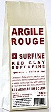 Rote kosmetische Tonerde - Les Argiles du Soleil Superfine Red Illite Clay — Bild N2