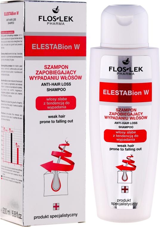 Shampoo gegen Haarausfall für dünnes Haar - Floslek ElestaBion W Anti-Hair Loss Shampoo