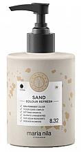 Düfte, Parfümerie und Kosmetik Haarmaske mit sandfarbenen Pigmenten - Maria Nila Colour Refresh Sand