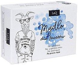 Düfte, Parfümerie und Kosmetik Herrenseife mit Aktivkohle - LaQ Men Soap