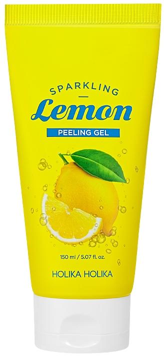 Gesichtspeelinggel mit Zitrone und Vitamin C - Holika HolikaSparkling Lemon Peeling Ge — Bild N1