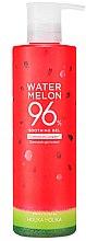 Düfte, Parfümerie und Kosmetik Beruhigendes und erfrischendes Gesichtsgel mit Wassermelone - Holika Holika Watermelon 96% Soothing Gel