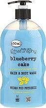 Düfte, Parfümerie und Kosmetik Duschgel für Haar und Körper Blaubeere & Aloe Vera - Bluxcosmetics Naturaphy