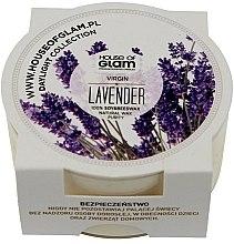 Düfte, Parfümerie und Kosmetik Soja-Duftkerze Virgin Lavender - House of Glam Virgin Lavender Candle (Mini)