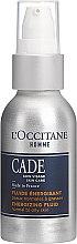 Düfte, Parfümerie und Kosmetik Energetisierendes Gesichtsfluid für normale bis fettige Haut - L'Occitane Cade Energizing Fluide