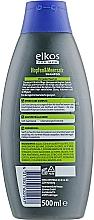Shampoo für jeden Haartyp mit Hopfen und Meersalz - Elkos For Men Pflege Shampoo Intense — Bild N2