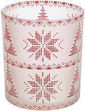 Düfte, Parfümerie und Kosmetik Votivkerzenhalter - Yankee Candle Red Nordic Frosted Votive Holder