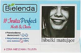 Düfte, Parfümerie und Kosmetik Mattierende Gesichtstücher - Bielenda #Insta Perfect Matt&Clear